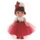 Brunette Hair 12 inch Christmas Precious Moments Doll | 4789