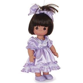 Precious Moments 12 Inch Doll The Little Girl in You Brunette | 6576