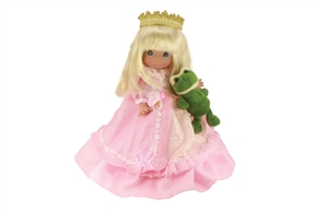 Precious Moments Doll How Many Frogs Must I Kiss 6620