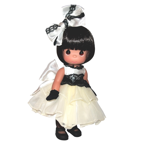 Precious Moments 12 Inch Doll Dance With Me Brunette 6651