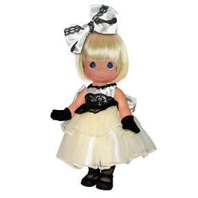 Precious Moments 12 Inch Doll Dance With Me Blonde 6652