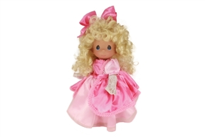 Precious Moments 12 Inch Doll I'm Tickled Pink To Be Your Friend 6685