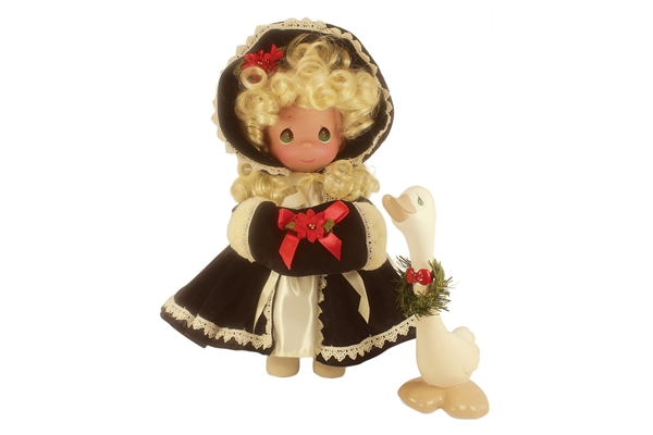 Precious Moments 12 Inch Doll Honk If You Love Christmas 6690