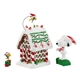 Peanuts Gingerbread Mansion Figurine Set, 4055818