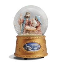 Nativity Musical Water Ball - Thomas Kinkade, 4029269
