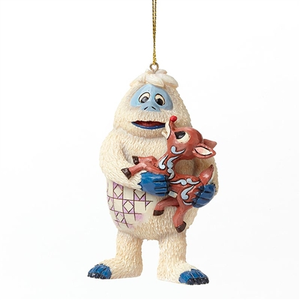 Bumble Holding Rudolph Hanging Ornament by Jim Shore, 4047944