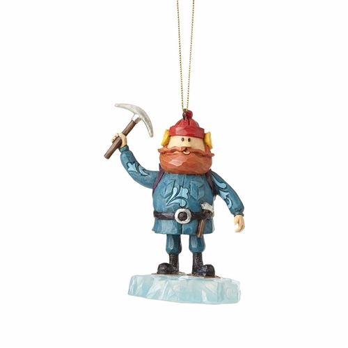 Rudolph Traditions Yukon on the Ice Block Ornament