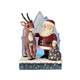 Rudolph Traditions with Santa and Light-Up Iceberg Figurine, 6001589