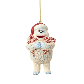 Rudolph Traditions Bumble Holding Candy Canes Ornament