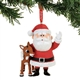 Rudolph and Santa Hanging Ornament 4057967