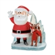 Department 56 Rudolph and Santa on Ice Figurine 4057975