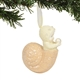 Snowbabies Seashell Hanging Ornament by Department 56, Enesco, 6003535