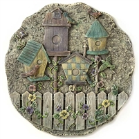 Spoontiques Birdhouse Stepping Stone / Wall Plaque, 4985