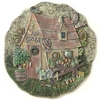 Spoontiques Garden Shed Stepping Stone / Wall Plaque, 4988