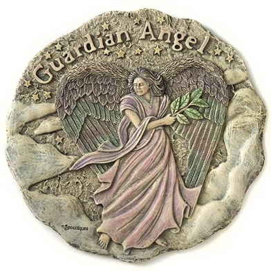Spoontiques Guardian Angel Stepping Stone / Wall Plaque, 5070