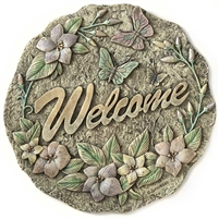 Spoontiques Welcome Stepping Stone / Wall Plaque, 5072