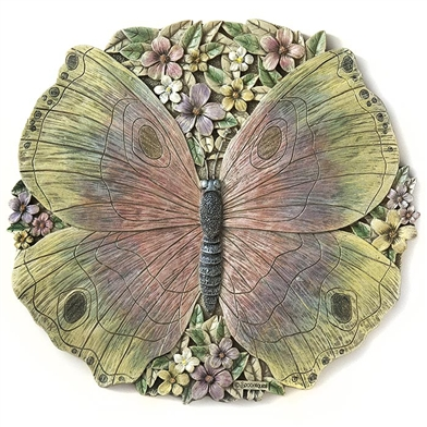 Spoontiques Butterfly Stepping Stone / Wall Plaque, 5085