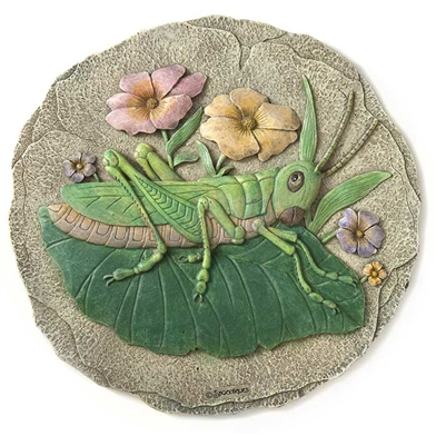 Spoontiques Grasshopper Stepping Stone / Wall Plaque, 5089