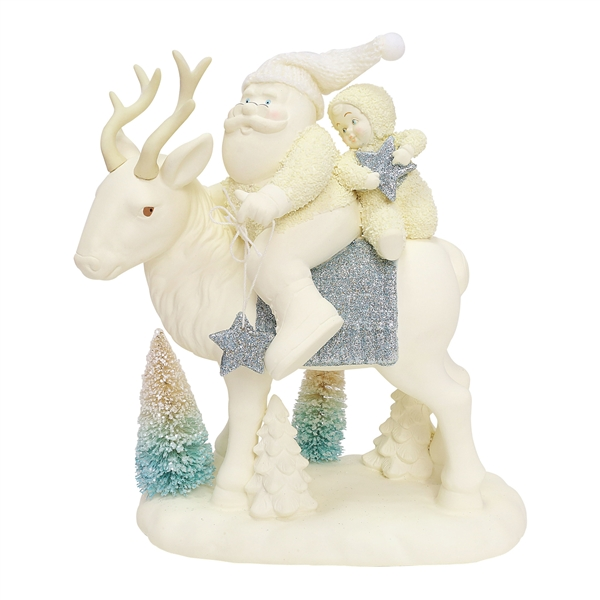 Snowbabies Peace Starry Night Journey by Department 56, 6000856