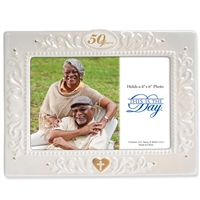 50th Anniversary 4x6 Photo Frame - This Is The Day, 4033781