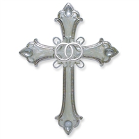 Wedding Rings Cross - This Is The Day Wall Decor, 4033859
