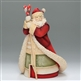 Santa with Staff - Foundations, Heart of Christmas Figurine, 4027171