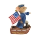 George Washington Mouse Tails with Heart Figurine, 6008087