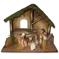 7pc Nativity Figurine Set - Vatican Observatory Foundation, 4025108