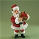 Santa with Christmas Teddy Bear - Possible Dreams Figurine, 4016728