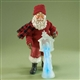 Santa with Nativity Ice Sculpture - Possible Dreams Figurine, 4016733