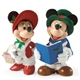 Possible Dreams Disney Mickey & Minnie Carolers 4023512