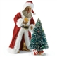 Santa Claus Golden Moments Possible Dreams Lighted Figurine, 4025748