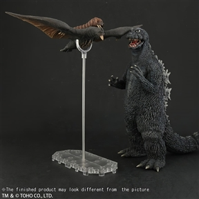 X-Plus Large Monster Series Godzilla 1964 B-Suit Ric Exclusive Vinyl Figure