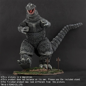 X-Plus 30cm Series FSL Godzilla 1962 Walking Pose Ric Exclusive Version